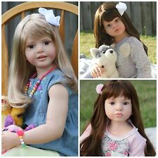 *CUSTOM* REBORN TODDLER/CHILD SIZE GIRL DOLL YOU CHOOSE KIT + HAIR/EYE COLOR