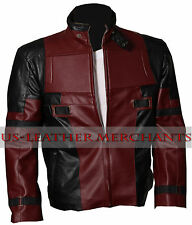 Deadpool Jacket Ryan Reynolds Wade Wilson - 100% High Quality Genuine Leather.