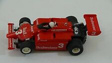 Tyco #3 Budweiser F1 Indy Slot Car HO Scale for Electric Racing Race Tracks #9