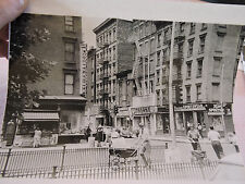 1960 Hester & Allen Streets Lower East Side LES JEWS Coca-Cola New York City NYC