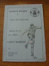 09/03/1991 Tuffley Rovers v Old Georgians  (Crease, Fold)