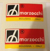 DUCATI MARZOCCHI FRONT FORK OR REAR SHOCK DECALS