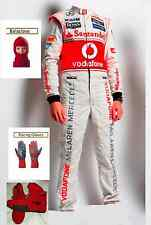 Vodafone Mclaren kart race suit KIT CIK/FIA level 2 2013 style(free gifts)
