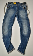 G-Star Raw-Arc 3d Loose tapered Braces-vintage look jeans w36 l34 nuevo!!!