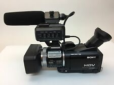 * NEVER USED *  Sony HVR-A1U Digital HDV 1080i HD Camcorder Camera Recorder