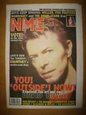 NME 1995 NOV 25 DAVID BOWIE OUTSIDE WELLER FOO FIGHTERS
