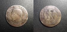 Napoléon III - 5 centimes tête nue 1855 MA, Marseille levrette F.116/26