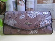 NEW - The Leaf Rose Lady Leather Wallet with Tags
