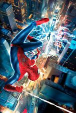 The Amazing Spider Man-2 III A1 High Quality Canvas Art Print