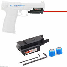 Tactical Low Profile Red Laser sight picatinny Weaver rail Mount For Glock Gun