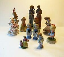 vtg. Lot of 12 Figurines ceramic porcelain Made in Japan Lefton