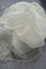 cotton scrim 2 yards white cheesecloth