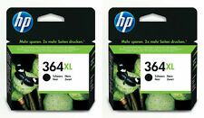 Original De Hp 364xl Negro Twin Pack Cartuchos De Tinta 2x cn684ee Alta Capacidad Xl