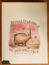 RONALD SEARLE IN PERSPECTIVE: THE BEST OF HIS WORK 1938-1985 Hardcover