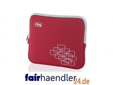 "✰ ASTUCCIO PER TABLET IPAD EBOOK READER 10,1"" 10"" 9 pollici I-BOX Ibag Borsa Rosso I-BAG CASE"