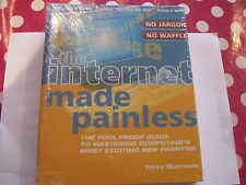 Set of 2 Guide Books on learning how to use Internet and Websites made Painless