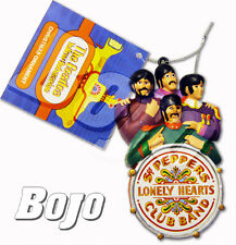 BEATLES SGT PEPPER BAND WITH DRUM YELLOW SUBMARINE CHRISTMAS ORNAMENT !  NEW!