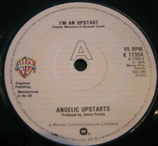 1979 PUNK - ANGELIC UPSTARTS - I'M AN UPSTART / LEAVE ME ALONE- Warner 17354