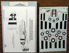 P-47 C/D Razorbacks Decals 336 348 378 FS/362  ~ 1/72 Superscale ~ Uncut 72-598