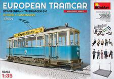 MiniArt 38009 EUROPEAN TRAMCAR (StraBenbahn Triebwagen 641) w/CREW 1/35