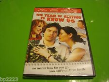 """""""THE YEAR OF GETTING TO KNOW US"""" Jimmy Fallon, Sharon Stone, NEW DVD FREE S&H"""
