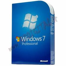 WINDOWS 7 PROFESSIONAL DVD PACK ITA ADESIVO PRO SEVEN 64 BIT LICENZA ORIGINALE