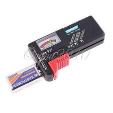 AA AAA C D Ni-MH 1.5V 9V Pile Bouton Volt Test Testeur Batterie Battery R03 LR06