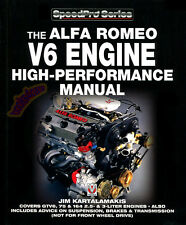 ALFA ROMEO V6 MANUAL BOOK ENGINE PERFORMANCE SHOP 164 GTV6 MILANO 75 159 156 166