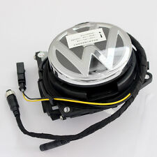 For Volkswagen Rotating Rear view Camera VW CC Passat Golf Polo logo Flip Backup