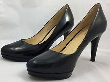 Cole Haan Black Patent Leather Platform Stiletto Heel Pumps Womens 8.5B Nike Air