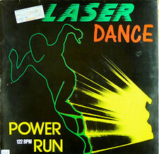 Laser Dance - Power Run - 12'' Maxi Single - zyx records - washed - L3597