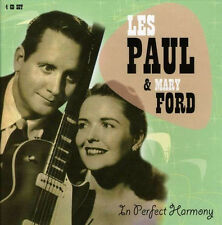 Les Paul & Mary Ford IN PERFECT HARMONY Deluxe Box Set REMASTERED Sealed 4 CD