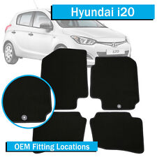 TO FIT: Hyundai i-20 - (2010-Current) - Tailored Floor Car Mats - i20