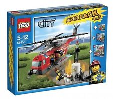 LEGO® City 66453 Feuerwehr Super Pack 4in1 Neu OVP Fire Value Pack NEW MISB NRFB