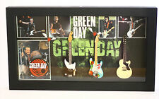 RGM8802 Billie Joe Armstrong Green Day Miniature Guitars in Shadowbox Frame