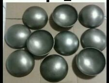 """(4) 4 """" Outside Diameter STEEL WELD ON PIPE CAPS - Dome Shaped"""