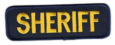 Sheriff/Gold-Navy BC Patch Cat No M0614