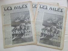 AILES 1933 641 BREGUET BIZERTE VELODYNE RIFFARD URSS DEWOITINE 332 AIR FRANCE