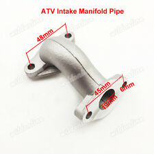 Intake Manifold Pipe Fit ATV Mini Falcon 90cc Meerkat 50cc Kazuma Redcat 110cc