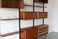 Mid Century Wall Unit Urio by Ico Parisi - MIM Roma 60s | Teak Regal System 60er