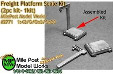 Freight Platform Scale Kit (1kit) - Milepost Scale Models On3/On30/1:48