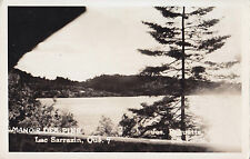 Manoir des Pins Lac Sarrazin ST-GUILLAUME-NORD Quebec Canada 1950 Carte Photo