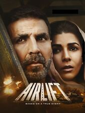 Airlift (2016) - Akshay Kumar, Nimrat Kaur - bollywood hindi movie dvd