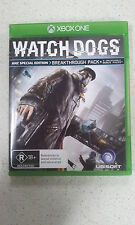Watch Dogs ANZ Special Edition xbox one