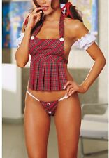 NEW Women's School Girl Sexy Lingerie Costume Adult Costume HOT!!!