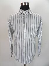 Mens Tommy Hilfiger Casual Shirt, Size L Large, Cotton, Long Sleeve #KM307