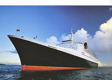 Shipping Postcard - Cruise Liner - Queen Elizabeth 2     LE249