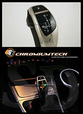 2003-11 Bmw E83 X3 Cromo Led Cambio Gear Perilla Para Lhd w/gear posición Luz Nuevo