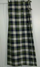 LOCHCARRON Gordon Ancient Tartan Plaid Pleated Wrap Buckle Scottish Kilt Skirt
