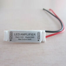Mini White 12V12A Signal Amplifier For RGB SMD 5050/3528 LED Strip Lights